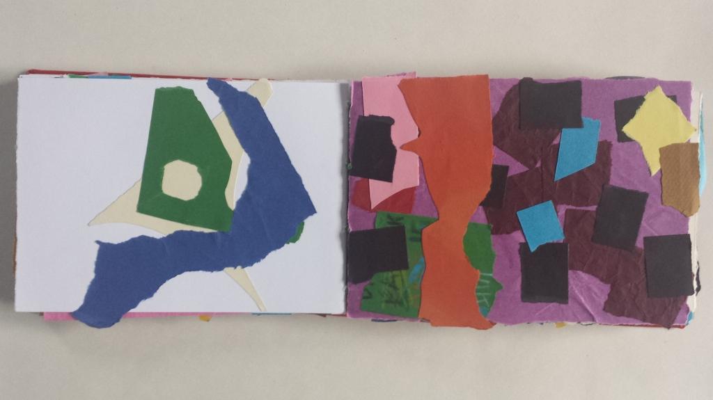 David Patrick Collage Artists Book